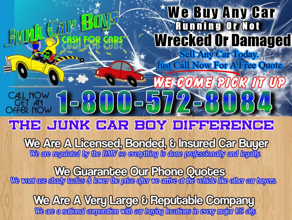 Cash For Cars Dayton OH - We Buy Junk Vehicles Same Day